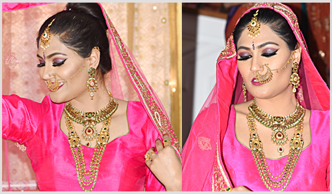 kundan gold necklaces bridal