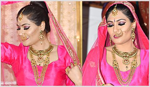 kundan gold necklaces bridal
