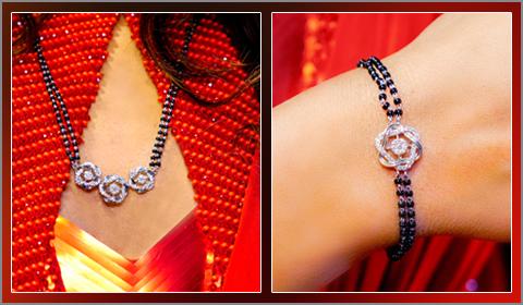 mangalsutra bracelet sets