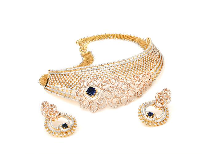 Designer Diamond Bridal Choker