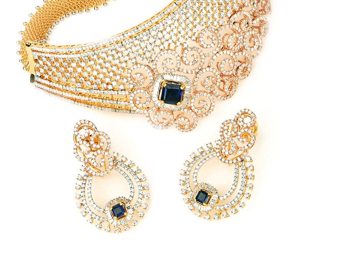 Certified Diamond Choker Necklace