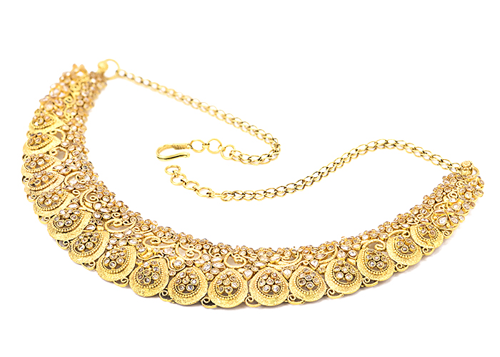 22k gold polki necklace sets collection