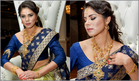 south indian pre wedding bridal jewelry