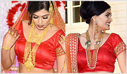 rani haar for brides