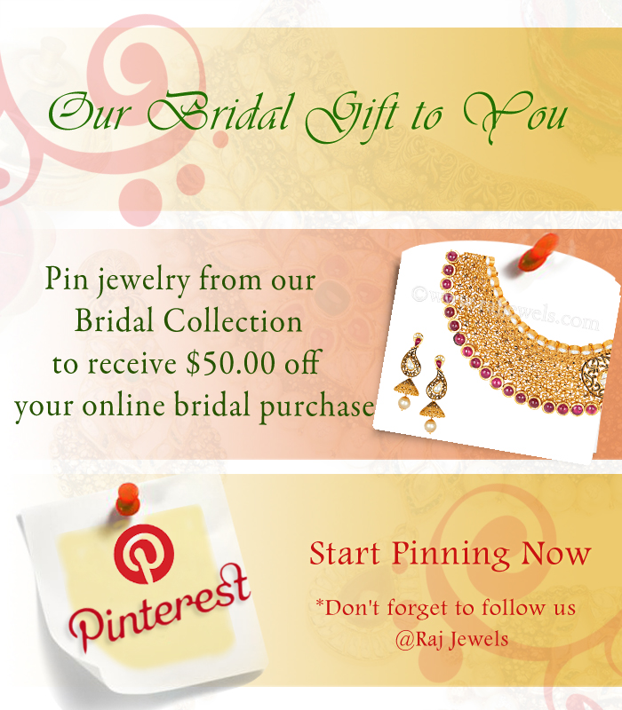 Pin Bridal Jewlery to win a gift