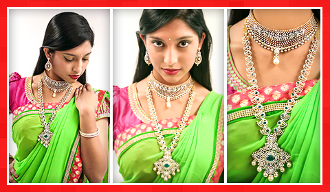 diamond jewelry bridal look