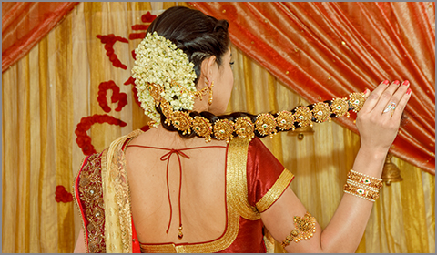 south indian bridal jada 22k gold