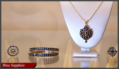 blue sapphire gemstones jewelry