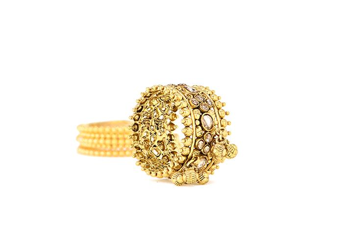 22k gold rings