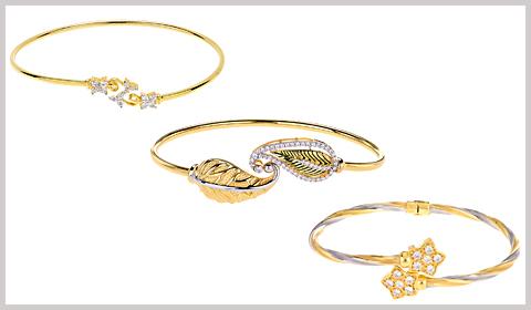 wrap bangle bracelets