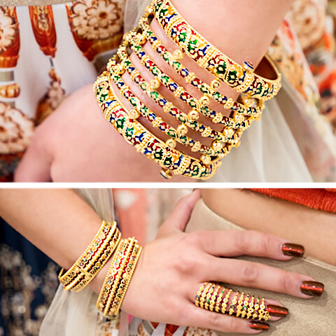 Desi bridesmaid jewelry