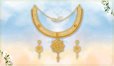 jewelry trending floral designs for necklace
