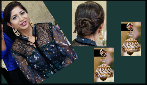 hairstyle for chand bali