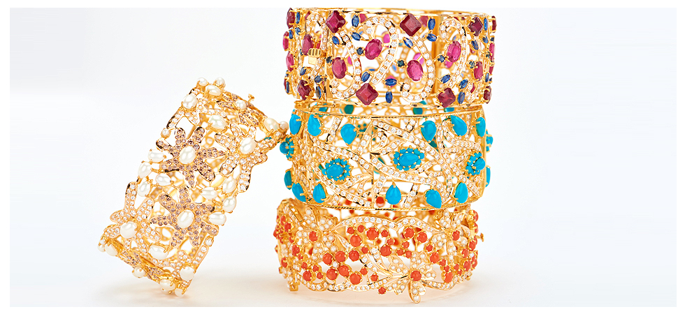 Color stone jewelry trends