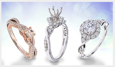 wired band engagement ring trends