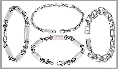 platinum men's bracelets